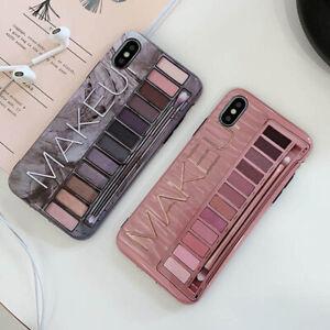 Makeup-Eyeshadow-Phone-Case-For-iPhone-6-6plus7-7plus-8-8-Plus-X-XS-MAX-MimonA