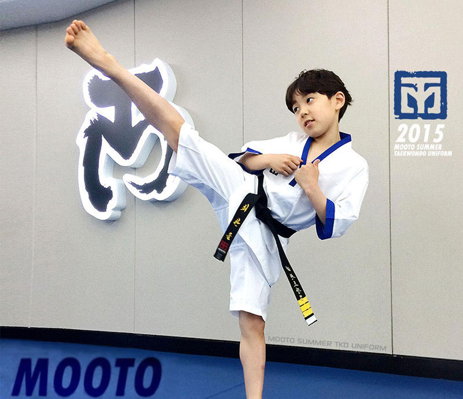 Taekwondo Summer Uniform Mooto Extera TKD Suits Doboks  Short Sleeves Cool Fabric  selling well all over the world