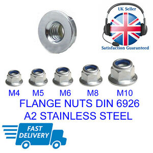M4-M5-M6-M8-M10-A2-STAINLESS-STEEL-FLANGED-NYLOC-NUTS-FLANGE-NUT-DIN-6926