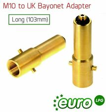 LPG Autogas Filling Point Adapter PL & Italy UK (M10) Denmark Dutch long 103mm