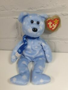 TY-Beanie-Babies-1999-HOLIDAY-Teddy-Bear-Peluche-Hang-Tush-tag-DICEMBRE-25th-1999