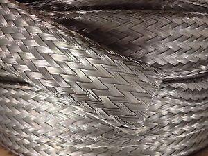 1 Foot 1 3 8 Quot Tinned Copper Tubular Braid Wire Emi