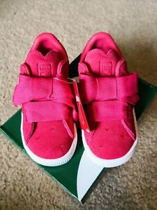 save off cd945 6db36 Details about Puma Suede Heart Valentine Paradise Pink Toddler Girl Shoes  Size 10T