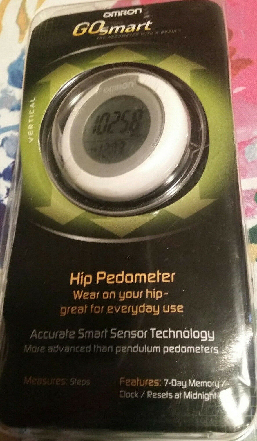 PEDOMETER OMRON HJ-150 GO SMART HIP PEDOMETER SMART SENSOR TECHN STORES 7 days