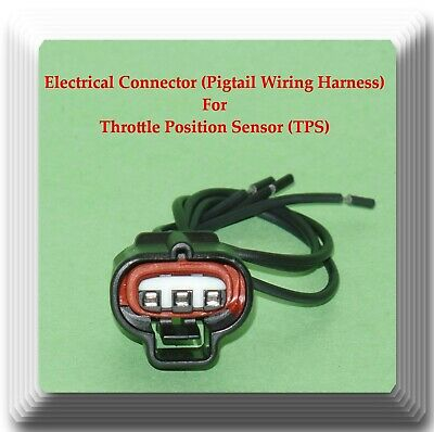 Suzuki Aerio 05-07 2.3L Connector of Throttle Position Sensor TPS TH405 Fits