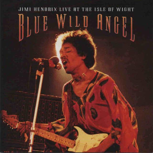 JIMI HENDRIX - Blue Wild Angel LIVE at the Isle of Wight CD 014 sony