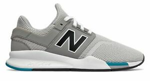c95617469d10a La foto se está cargando Zapatos-para-hombre-247-New-Balance-Gris-Con-