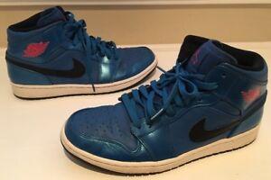 Nike Air 10 554724 1 blauw maat Mid Jordan basketbalschoenen 423 Mens metallic rpFqHrwx
