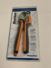 Thomas Amp Betts Tbm45s Compression Tool Ratchet Color Keyed Crimper 8 2 10 6 Awg