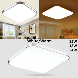 LED Deckenleuchte Lampe Beleuchtung Deckenlampe Küche Bad Modern ...