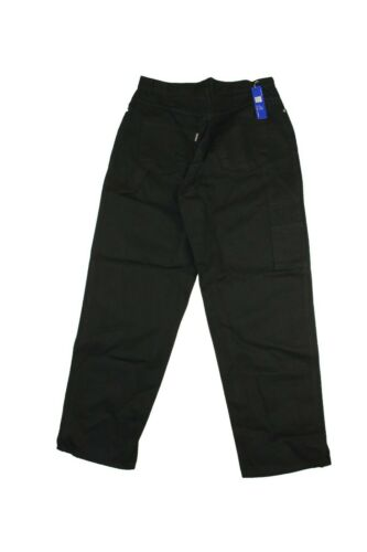 ThreeSixty M1000 Loose Fit Carpenter Denim Jeans Black Skate Baggy Mens Supreme