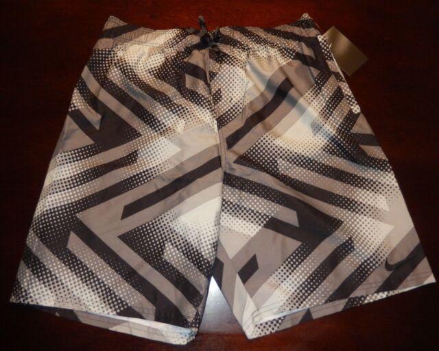 ce291f72278db Nike Swim Trunks Shorts Mens Size Medium Black Grey Ness8408-001 ...