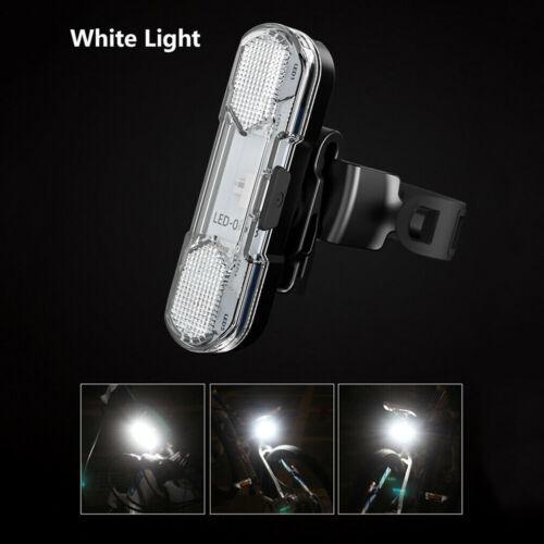 High Brightness Bike Rear Light USB Powerful LED Bicycle Warning Tail Light