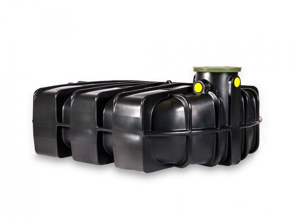 Regenwasser Flachtank 2500 Liter Zisterne,Regenbehälter,Wasserbehälter,flachtank