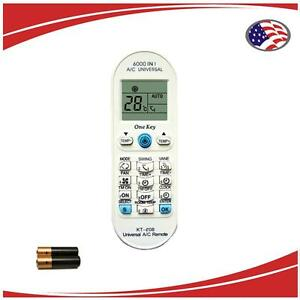 Details about KT-e08 Mini Split AC Remote For  Carrier,Chigo,Daewoo,Gree,Midea,Mitsubishi, etc