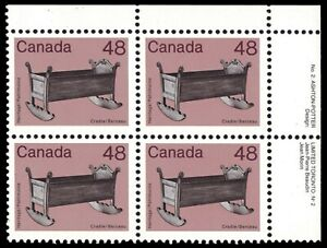 CANADA-929ii-Artifacts-034-Wooden-Cradle-034-1983-Clark-Paper-pb21740