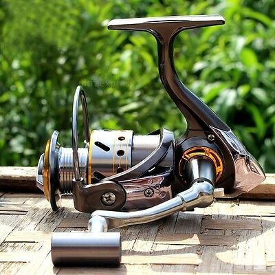 High Speed Left/Right Interchangeable Surf Fishing Spinning Reel DK2000 12BB+1RB
