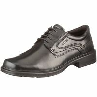 Ecco Men's Helsinki 50144 Black Leather Lace Up Dress Shoe