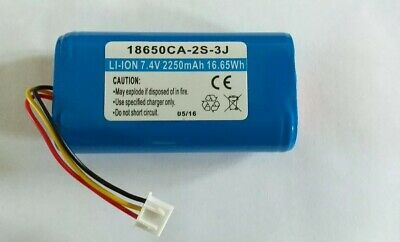 7.4v 2250mah 18650 Li-ion Rechargeable Battery Pack Insulated 18650ca-2s-3j Bak