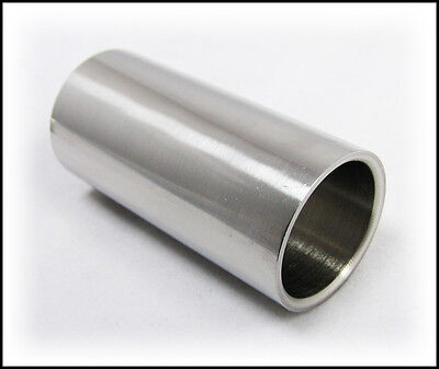 Cool 1.97-inch/50mm Stainless Steel Slide for Guitar & Cigar Box Guitar