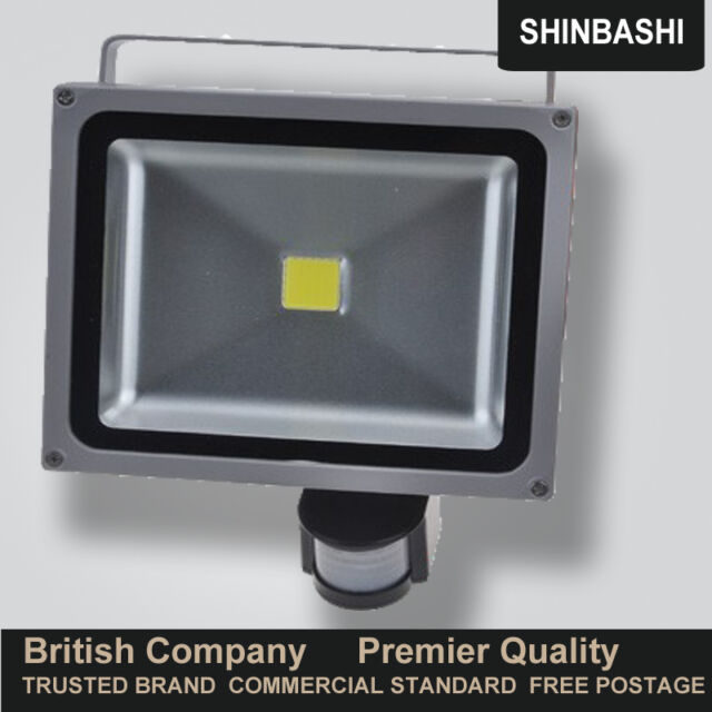 PREMIER LED PIR Motion Sensor Garden Security Waterproof Flood Spot Lights UK