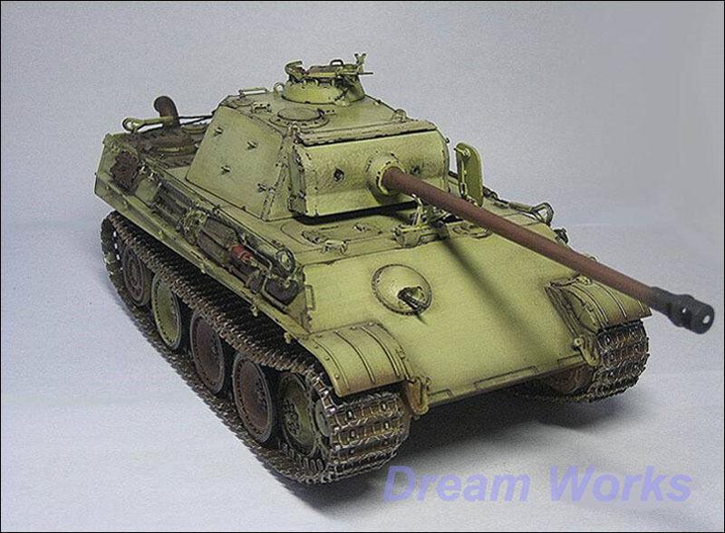 Pre-Built Dragoon 1 35 SdKfz 171 Panther G Medium Tank +PE +Details