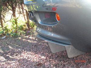 Lotus Elise S1 Diffuseur-étendue en Noir
