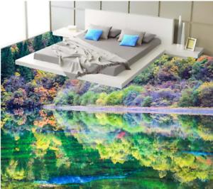 3D hermosa selva Piso impresión de parojo de papel pintado mural 6 5D AJ Wallpaper Reino Unido Limón