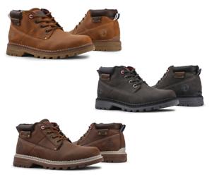 CARRERA-JEANS-Scarpe-uomo-stivaletti-bassi-pelle-lacci-boots-caviglia-outlet-DD