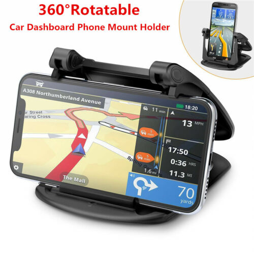 360 Degree Rotatable Car Dashboard Phone Mount Holder For GPS iPhone 7 6 X XR XS