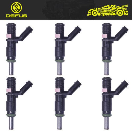 6pcs fuel injector nozzle Fit Mercedes SLK R E SLK GLK ML S 3.5L 3.0L brand new