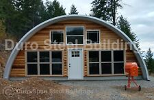 Durospan Steel 50x46x17 Metal Quonset Diy Home Building Kits Open Ends Direct
