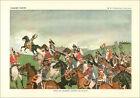 ANNÉES 60 CHROMO TRÉS GRAND FORMAT 60s Napoléon Bonaparte IÉNA MURAT