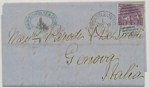 GB-1869-6-D-Pl-8-SECOND-DAY-OF-ISSUE-only-two-FDC-039-s-known-EXPERTIZED-LOOK