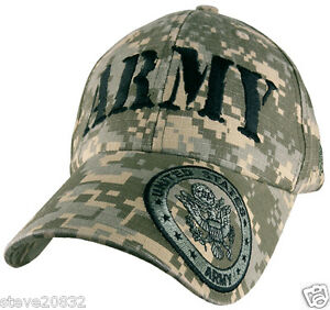 Image is loading NEW-U-S-Army-logo-baseball-cap-hat-digital- beb9bfdf49b