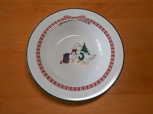 Image is loading Anchor-Dinnerware-HOLIDAY-MEMORIES-C8400-115-Set-of- & Anchor Dinnerware HOLIDAY MEMORIES C8400/115 Set of 2 Cereal Bowls 7 ...