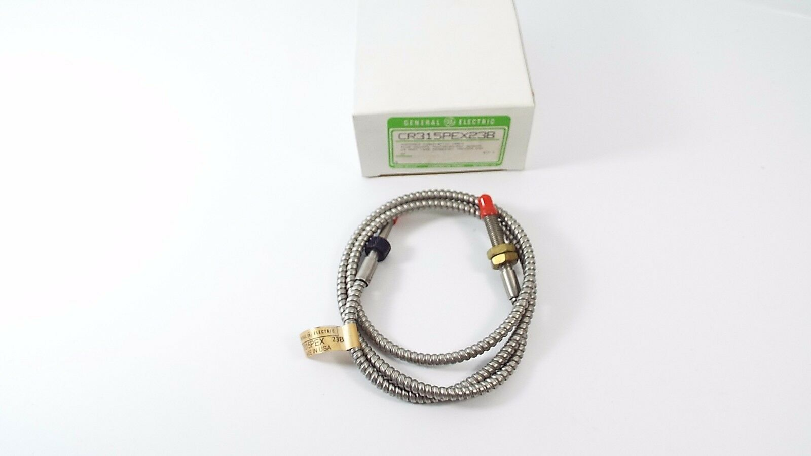 GENERAL ELECTRIC CR315PEX-23B FIBER OPTIC CABLE ARMORED 3FT