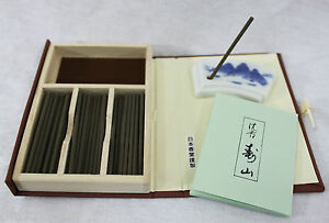 NIPPON-KODO-Incienso-Japones-JINKOH-JUZAN-60-varillas-caja-quemador-de