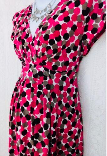 a rosa Materiale M pois Dress 8 Rosa Womens Maternity elasticizzato Size Maternity zHwHqO6