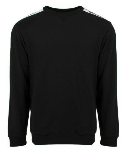 Tape Jumper Sweatshirt Black Moschino Mens Logo Underwear 0wqUpt
