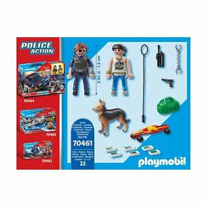 Playmobil Police Action City Street Patrol Building Set 70461 NEW IN STOCK