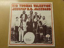 "LP 12"" / KID THOMAS VALENTINE & JEGGPAP NEW ORLEANS JAZZ BAND (HONKY, BELGIUM)"