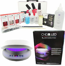 CND SHELLAC CHIC COLLECTION STARTER PACK KIT SET WITH GENUINE CND 36W LED LAMP