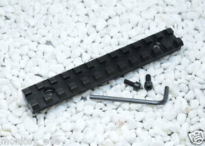 Screws-Curve-Rifle-Scope-Picatinny-Round-Bottom-20mm-Weaver-Rail-Mount-Base-M62