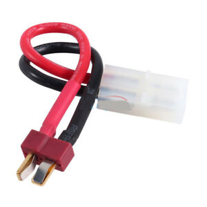 Details about RC Car Battery Adaptor Deans T-Plug To Tamiya For Grasshopper  Lunchbox Frog