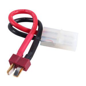 RC-Coche-Bateria-Decanos-Adaptador-T-Plug-Para-Tamiya-para-Grasshopper-Lunchbox-Frog