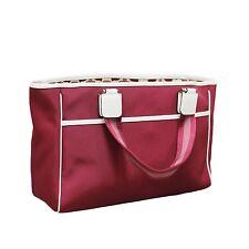 NEW GUCCI Fuschia Hot Pink Tote Bag Handbag NWT w/Leather Trim, 264216