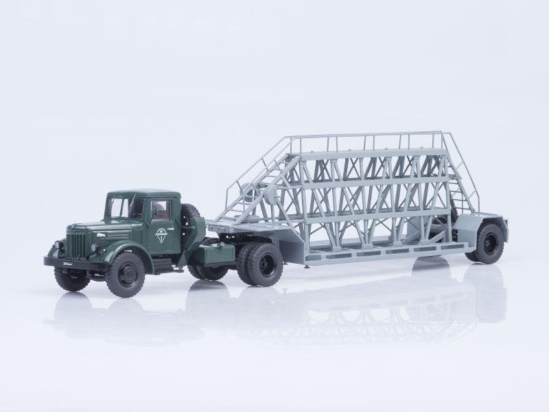MAZ 200V semitrailer NAMI 790 green-grey SSM 7020 1 43