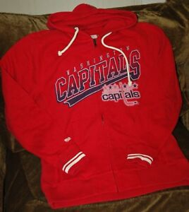 Image is loading Washington-Capitals-hoodie-sweatshirt-Mitchell-amp-Ness-Men - 4a704b039c11