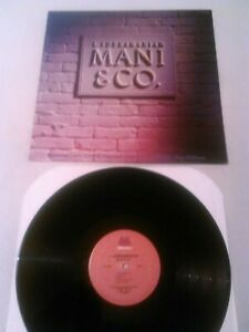 L. SUBRAMANIAM - MANI & CO. LP EX!! ORIGINAL U.S MILESTONE CORYELL TONY WILLIAMS